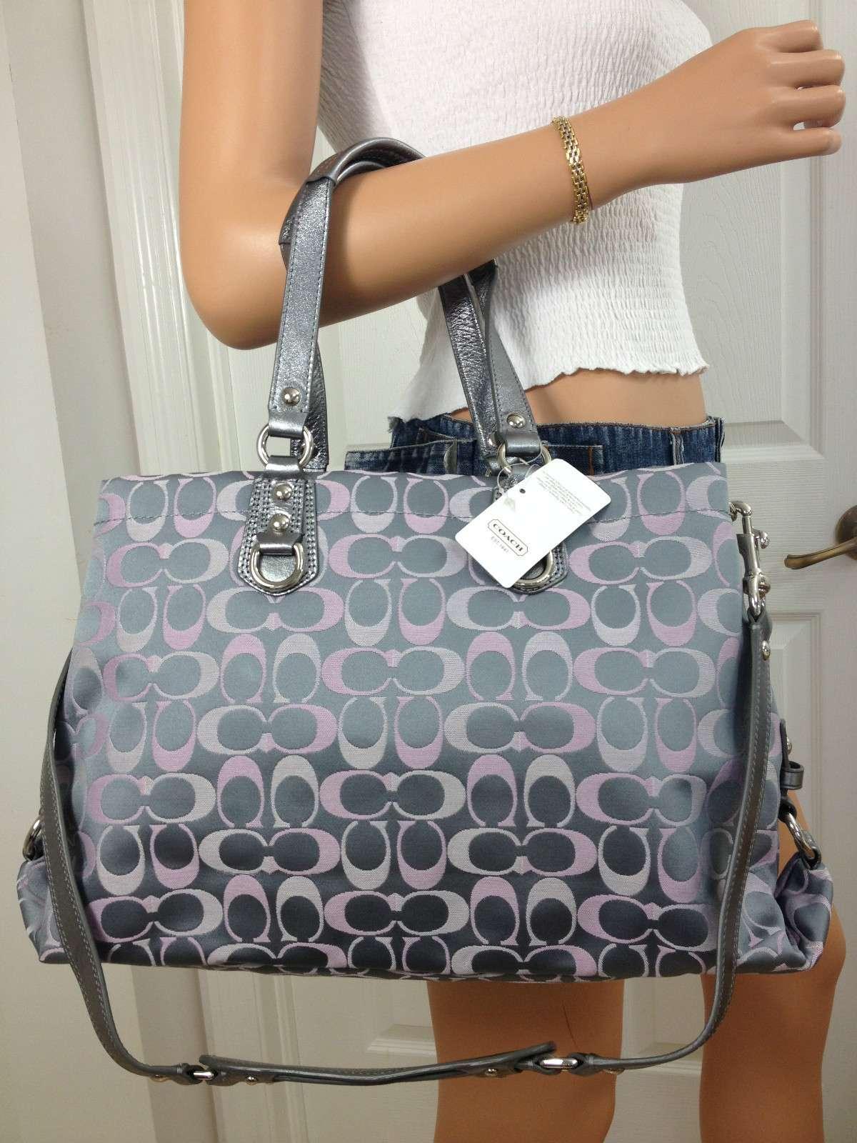 coach gray bag ml2g  coach gray bag