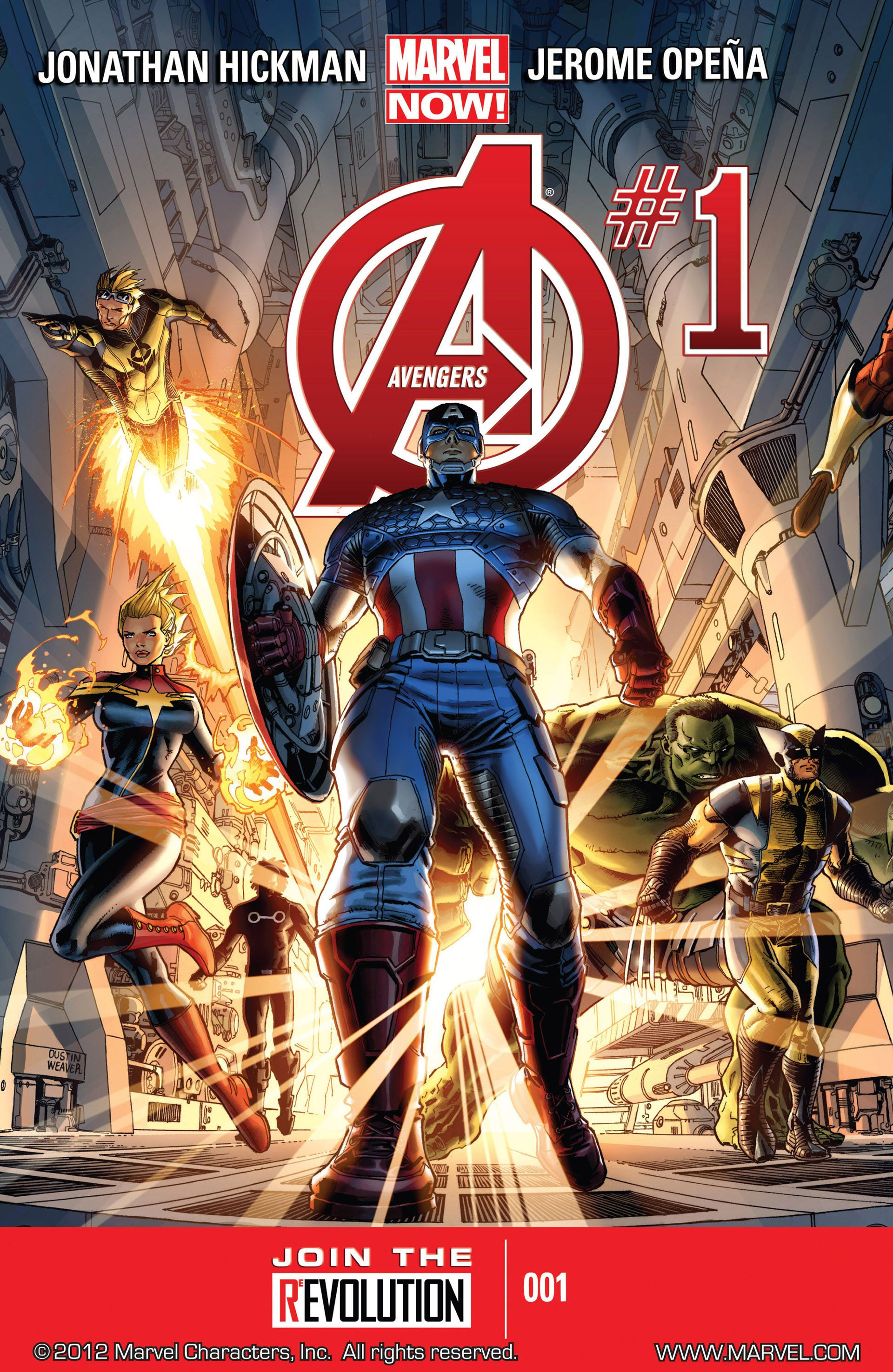 Avengers Vol.5 #1-44 + Annual (2013-2015) Complete