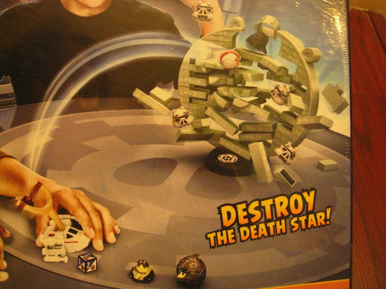 how to play jenga death star game