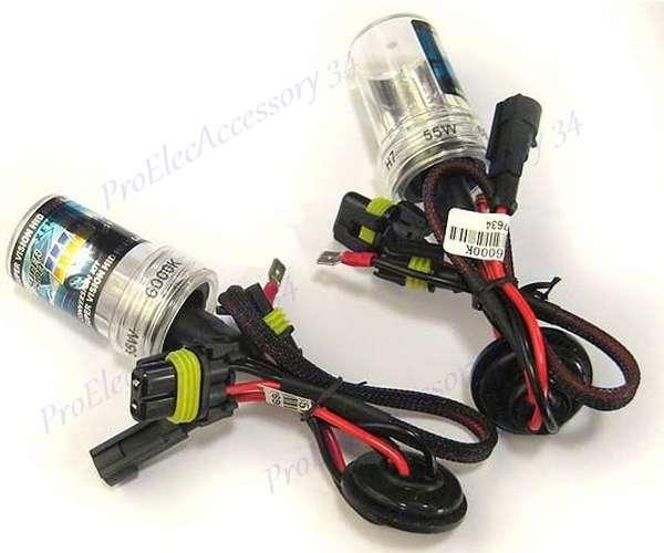 paire 2 ampoule lampe feu phare xenon h1 h7 hid rechange. Black Bedroom Furniture Sets. Home Design Ideas