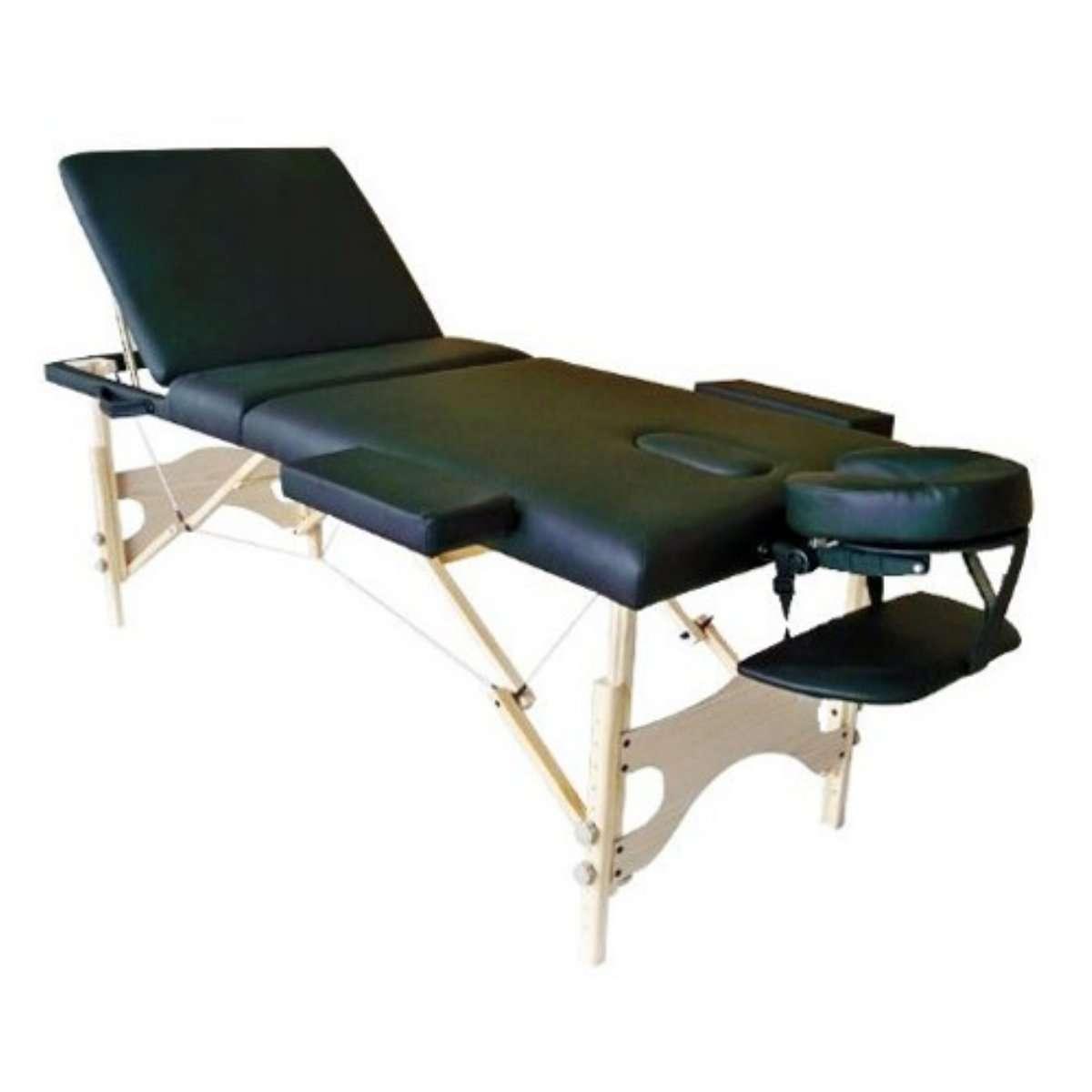 Mesa masajes portatil cama masajes color negro demarkazone - Mesa portatil cama carrefour ...
